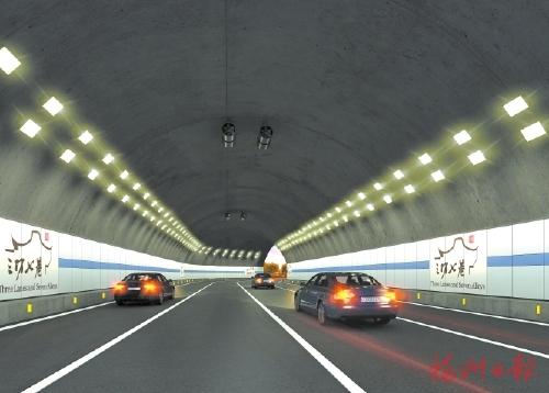 机场高速及二环沿线10座隧道品质提升下月底完成