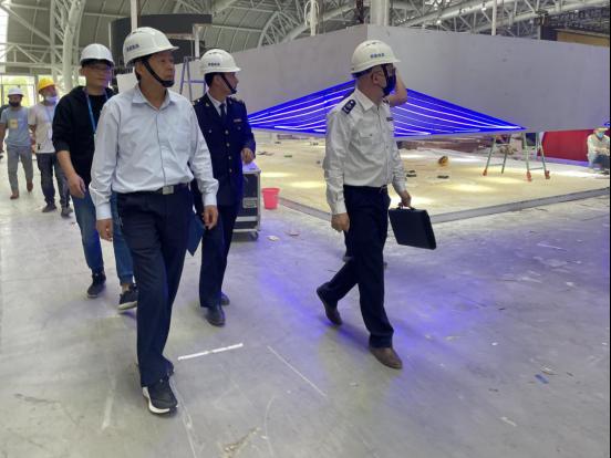 福州市应急管理局为第四届数字中国建设峰会平安护航