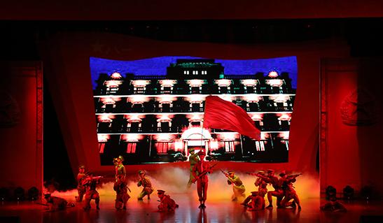 马尾区庆祝中国人民解放军建军90周年文艺晚会精彩上演