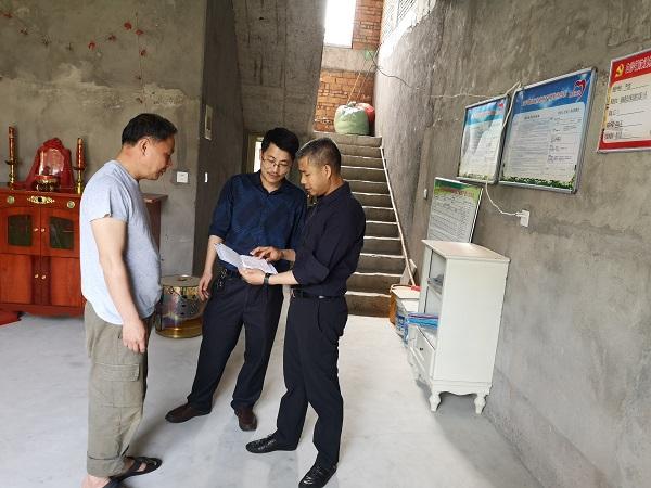 市卫健委领导到闽侯县白沙镇开展综治挂钩和健康扶贫工作