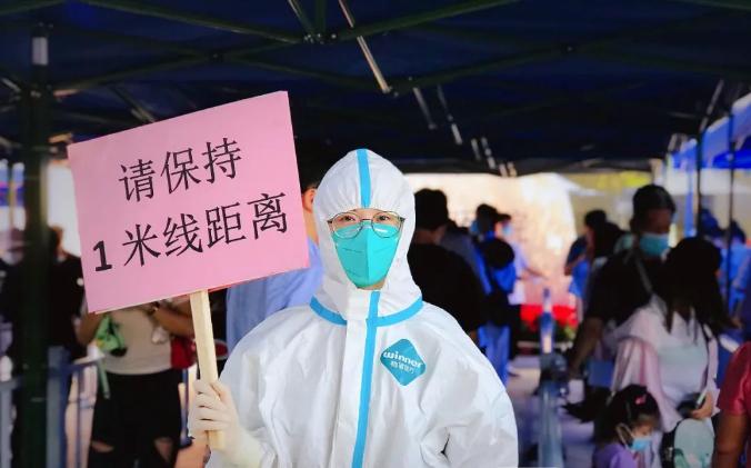 """福州核酸检测现场""""悟空圈""""亮了!核酸检测结果为什么要等?"""