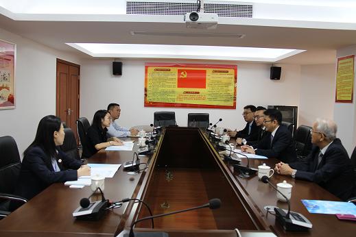 我委与台湾高雄律师公会举行交流座谈会
